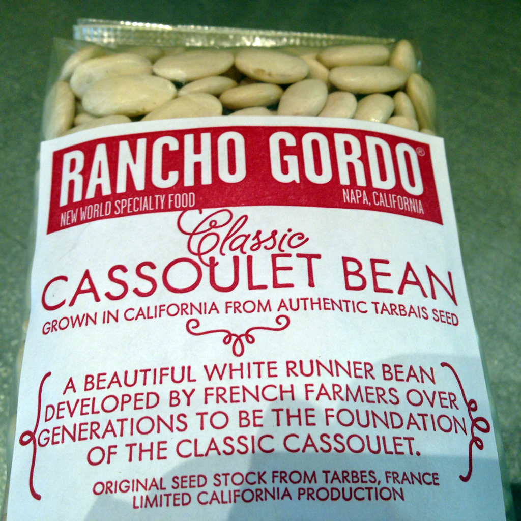 I see cassoulet in our future!