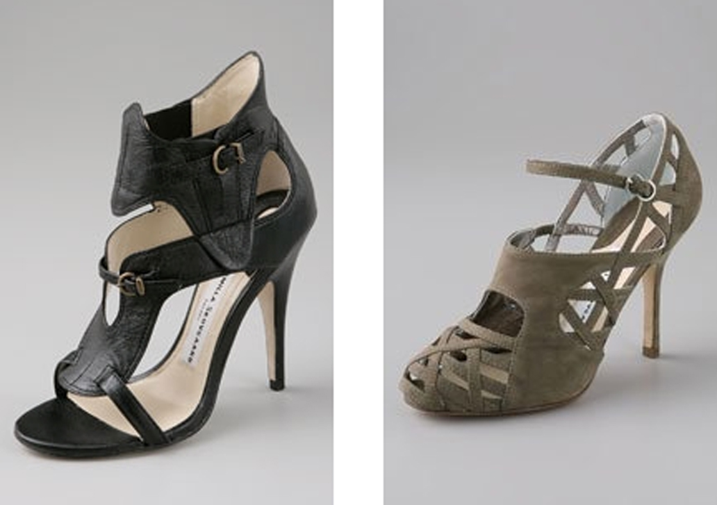 Camilla Skovgaard, two pairs from one of her first collections. Cheerio!