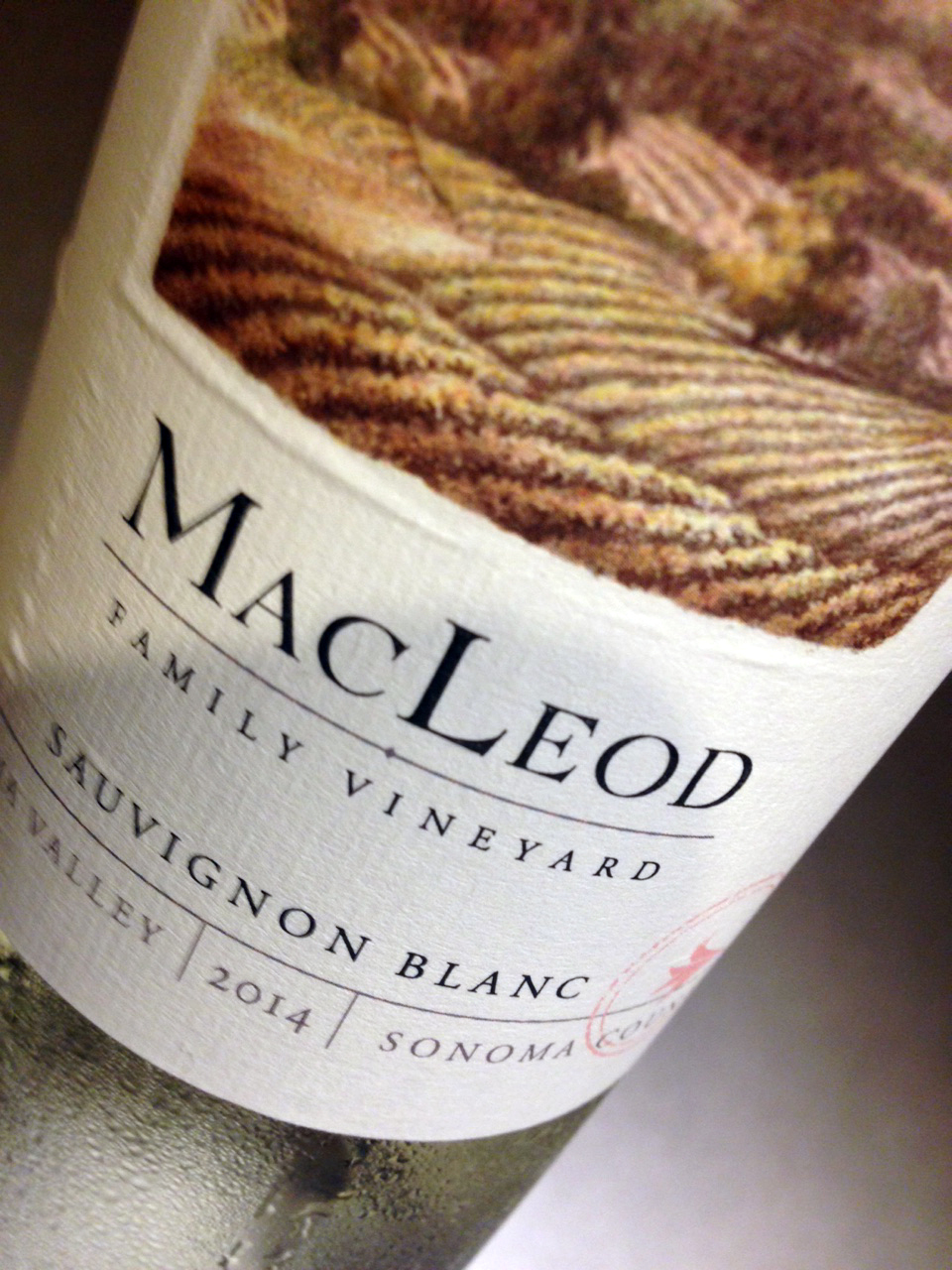 This year's drought has diminished the 2015 MacLeod harvest by 30-40%. Thankfully, we have a supply of the 2014 and it drinks beautifully.