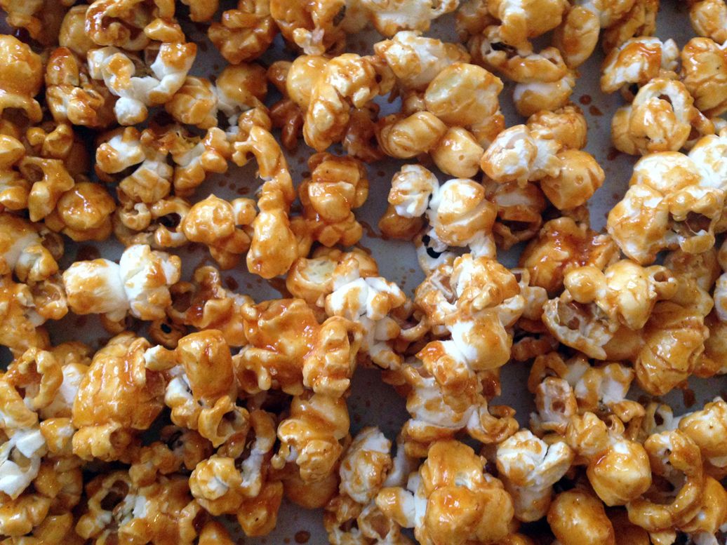Sweet & spicy popcorn.